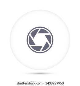 diaphragm vector icon 10 eps , Lorem ipsum Flat design