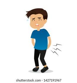 Diarrhea , Men have diarrhea,Abdominal pain, stool.