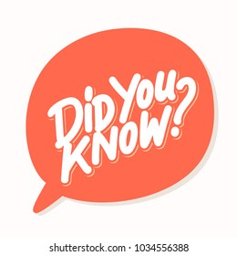 Did you know? Vector text .