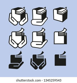 different abstract Printer icons