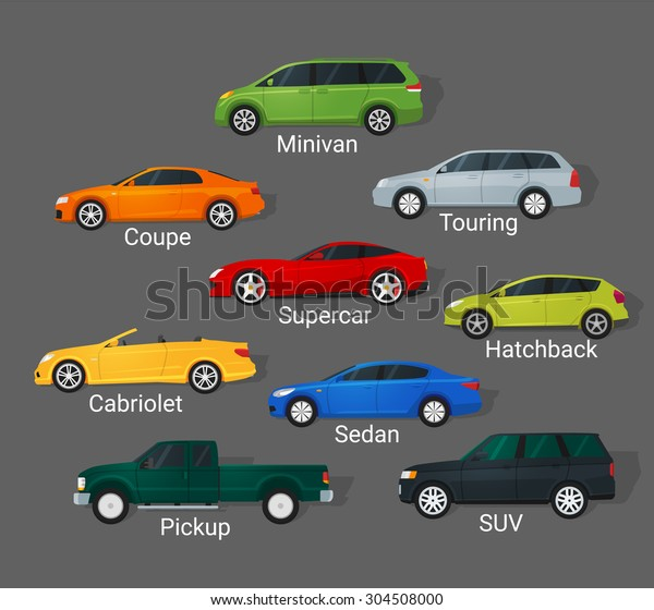 Different types of car