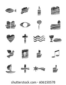 different christian symbols