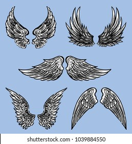 The different fictional wings