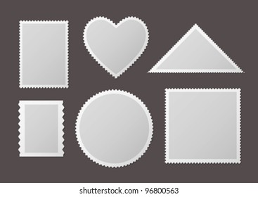 Different forms of stamps
