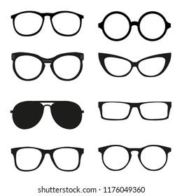 different glasses frames