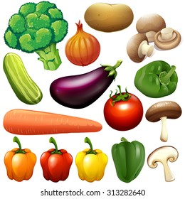Premium Vector   Cartoon fruits vector clipart collection