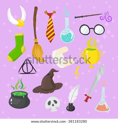 Different magic elements for