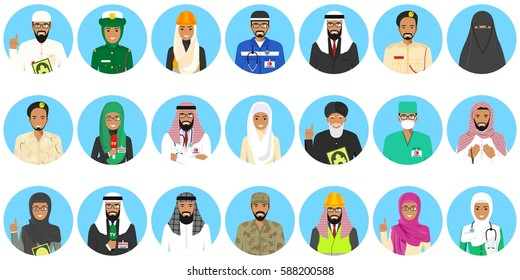 Icon Doctors Muslims Images Stock Photos Vectors Shutterstock