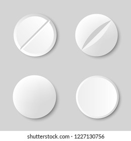 Different Pill collectionvector