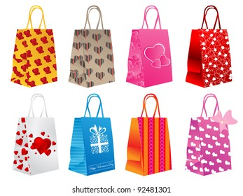 Different shopping bags