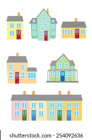 Different styles of housing