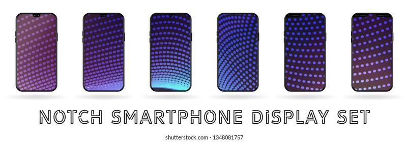 Mobile Notch Stock Vectors, Images & Vector Art | Shutterstock