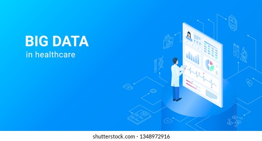 Dig data in healthcare - electronic health data sets.