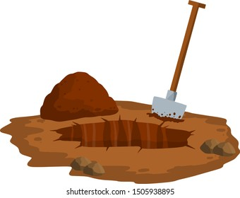 Cartoon Pile Dirt Images Stock Photos Vectors Shutterstock