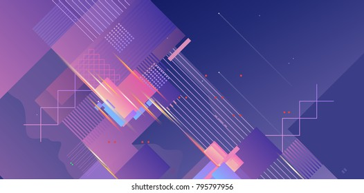 digital abstract background, abstraction composition