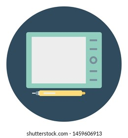 Digital artboard Isolated Vector Icon which can easily modify or edit