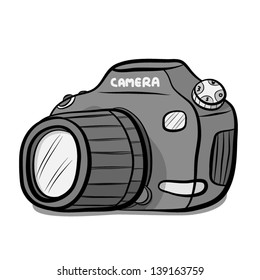 cartoon camera images, stock photos & vectors | shutterstock