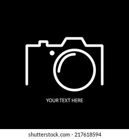 Digital camera minimal concept