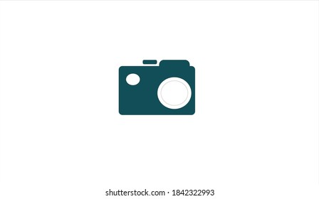 Digital Camera vector with the white Background