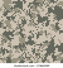 Digital camo vector pattern. 200+ camo textures in my portfolio.