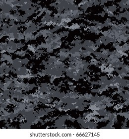 digital camouflage seamless patterns (urban palette)