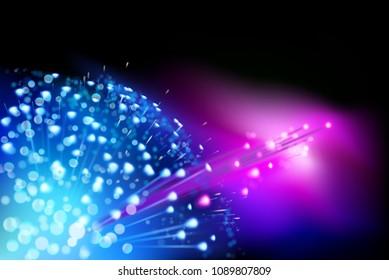 Digital data transmission. Vector illustration.