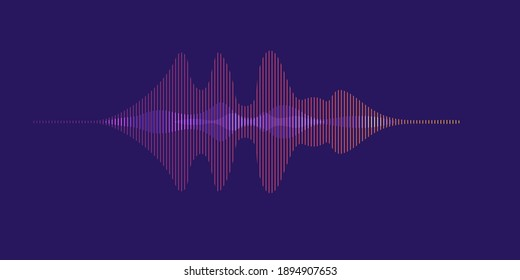 Digital dynamic wave abstract background vector artwork