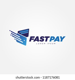 Digital Fast Payment Wallet Logo Sign Symbol Icon