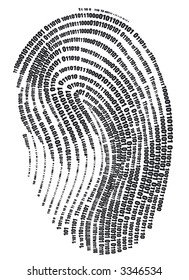 Digital finger print - web signature