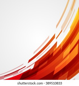 Digital geometric lines abstract vector background bright and transparency.