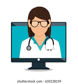 digital healthcare technology icon