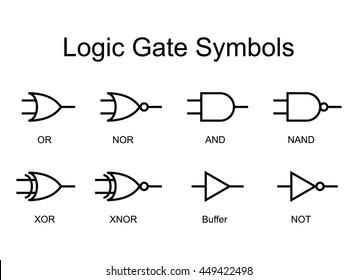 Logic Gates Images, Stock Photos & Vectors | Shutterstock