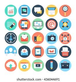 Digital Marketing Vector Icons 1