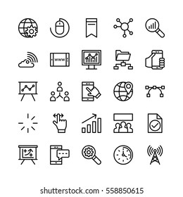 Digital Marketing Vector Icons 2