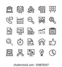 Digital Marketing Vector Icons 5