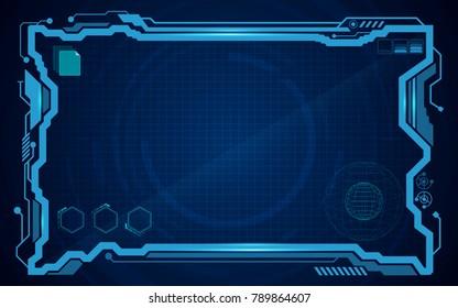 digital pattern technology concept background