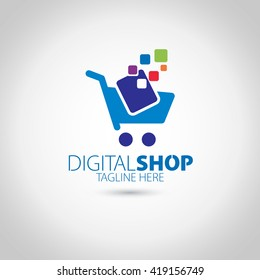 Digital Shop Logo