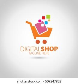 Digital Shop Logo