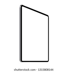digital tablet vector drawing perspective angle view