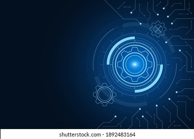 digital technology and engineering, digital telecoms concept, Hi-tech,futuristic technology background, vector illustration.