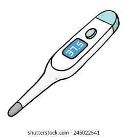 Cartoon Thermometer