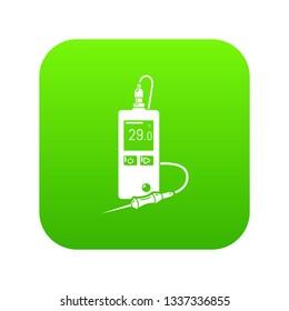 Digital tonometer icon. Simple illustration of digital tonometer vector icon for web