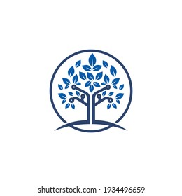 Digital Tree Technology Tech symbol Security  Technology Data Cyber Network Logo