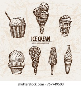 Ice Cream Drawing Images Stock Photos Vectors Shutterstock