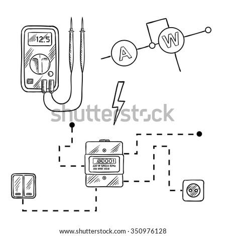 circuit diagram digital electric meter data wiring diagrams u2022 rh mikeadkinsguitar com