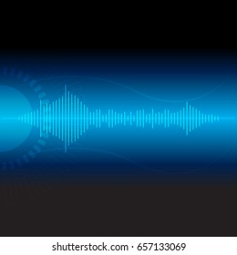 digital wave technology,vector communication abstract background
