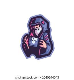 Digital Wizard E Sport Logo