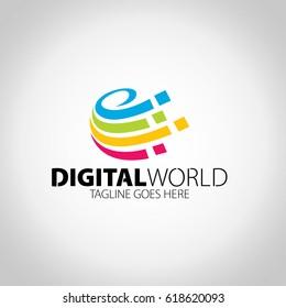 Digital Word Logo