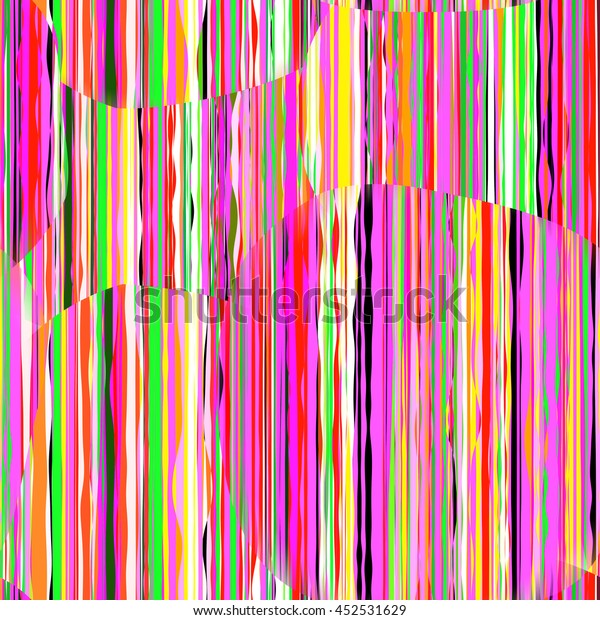 Digitally Created Seamless Colorful Texture Grungy Stock Vector ...