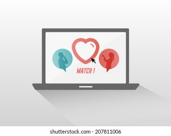 match online dating service